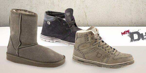 Pohodlné a ľahučké zimné topánky Dude