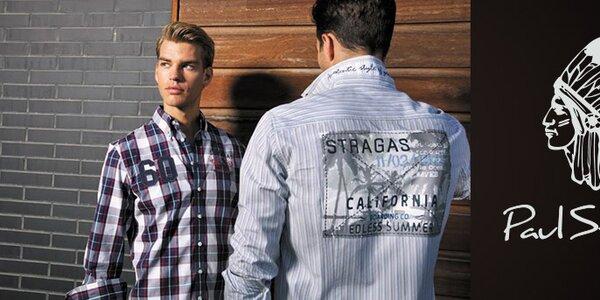 Športovo elegantná pánska móda Paul Stragas