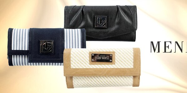 Originálne aj triezvo elegantné peňaženky Menbur