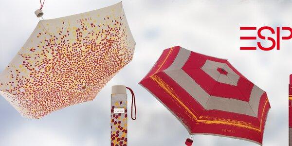 Veselé farebné dáždniky Esprit