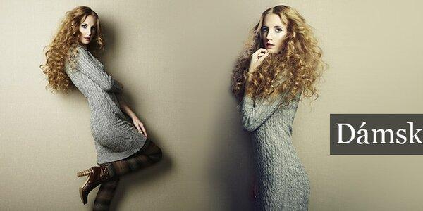 Dokonalé, štýlové aj originálne dámske šaty skladom