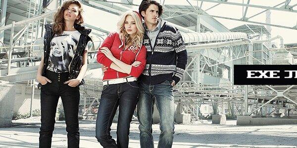 Štýlová pánska móda Exe Jeans