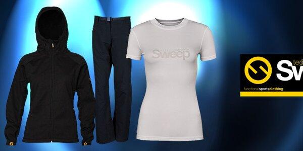 Dámske športové oblečenie českej značky Sweep