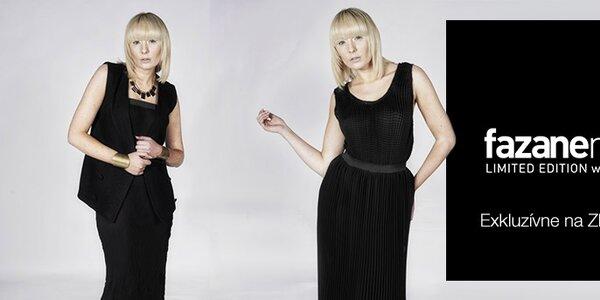 Originálna dámska móda britskej návrhárky Fazane Malik