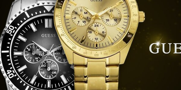 Urobte (si) radosť so štýlovými hodinkami Guess