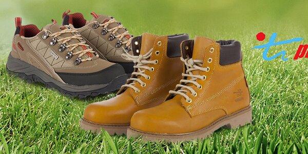 Kvalitná outdoorová a bežecká obuv Praylas