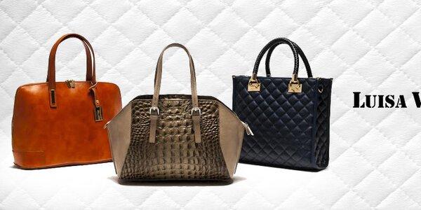 Taliansky luxus a ikonická elegancia kabeliek Luisa Vannini