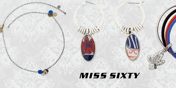 Prstene, retiazky, náušnice ... Štýlové šperky Miss Sixty