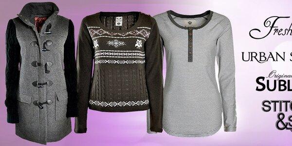 Mestská móda pre dámy - Fresh Made, Sublevel, Stitch & Soul