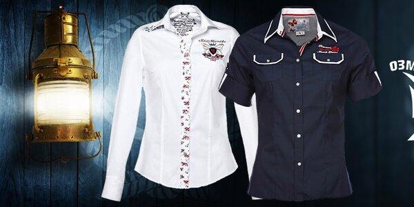 Dámske športovo elegantné košele a tričká M. Conte