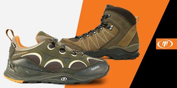 Kvalitné pánske trekové a športové topánky Tecnica
