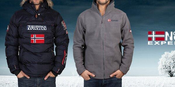 Pánske oblečenie Geographical Norway - užite si zimu!
