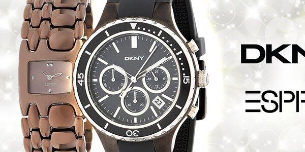 Štýlové hodinky DKNY a Esprit pre pánov aj pre dámy