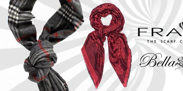 Elegantné šatky a šále Fraas a Bella Rosa skladom už od 9,99€