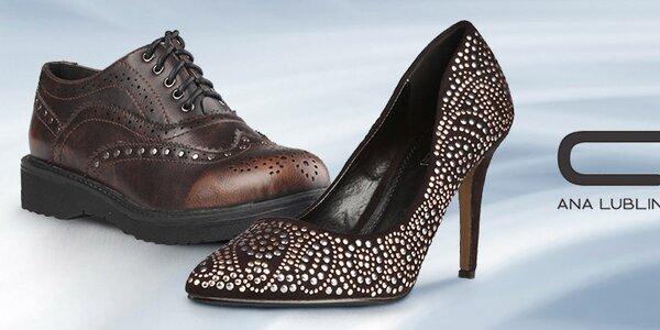 Dizajnové topánky Ana Lublin pre elegantné dámy aj rebelky