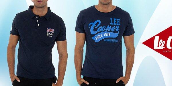 Štýlové pánske póla a tričká s potlačou Lee Cooper