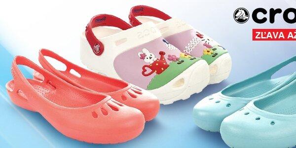 Pohodlné a ľahučké dámske a detské topánky Crocs