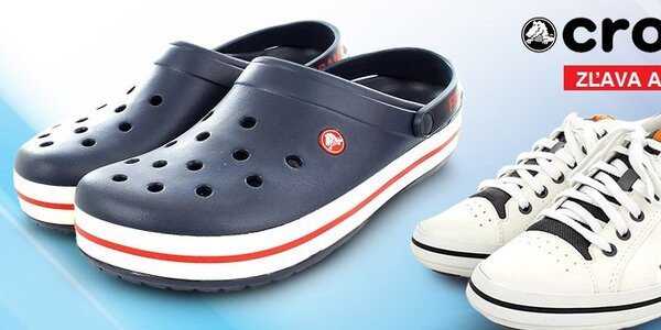 Pohodlné a ľahučké pánske topánky Crocs