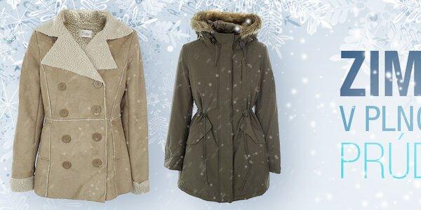Zima v plnom prúde! Dámske kabáty a bundy