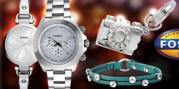 Americké designové hodinky a šperky Fossil
