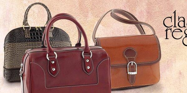Talianske kabelky Classe Regina - koža je skrátka koža