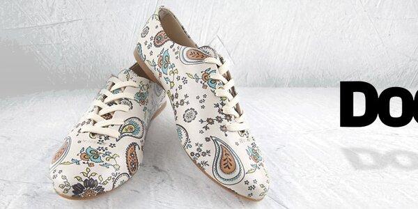 Dámske topánky s vtipnými a hravými potlačami Dogo