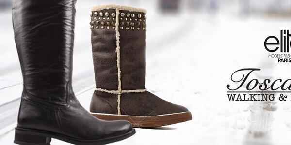 Dámske topánky Toscania, Elite a Les Tropeziennes