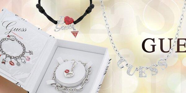 Originálne značkové dámske šperky Guess