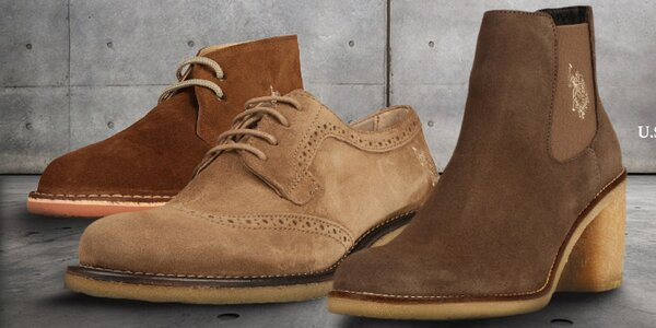 Kvalitná dámska a detská obuv U.S. Polo