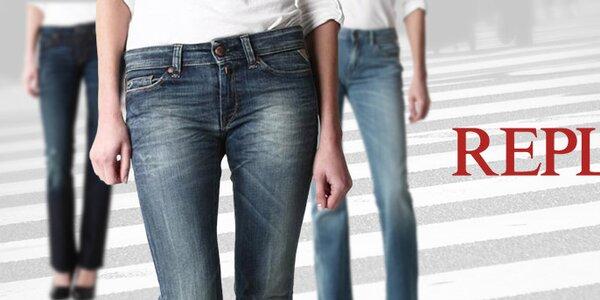 Dámske džínsy Replay - obľúbené denimové variácie