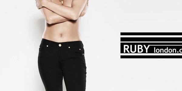 Dámske džínsy rôznych farieb a štýlov Ruby London