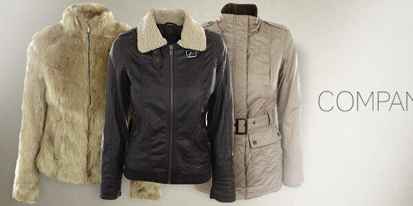 Elegantné kabáty, kožúšky a bundy Company & Co