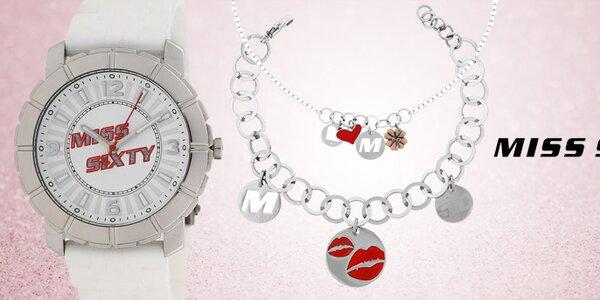 Štýlové dámske doplnky - šperky a hodinky Miss Sixty