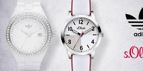 Športové aj elegantné hodinky Adidas a S. Oliver