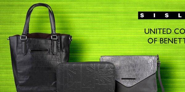 Nápadité dámske kabelky a peňaženky Sisley a Benetton