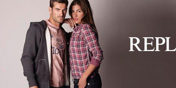Štýlové a pohodlné pánske oblečenie Replay