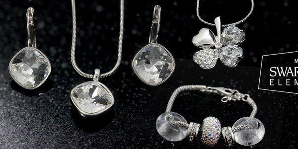 Lesk a farby obľúbených dámskych šperkov Swarovski