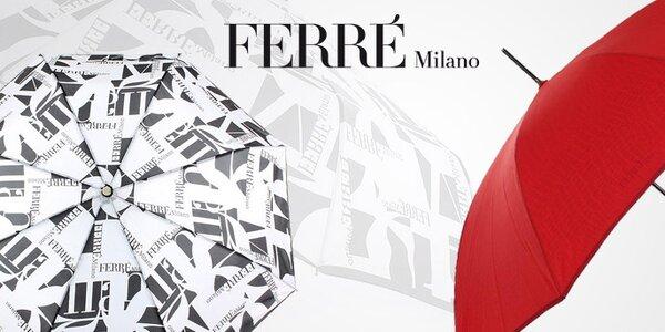 Veselo farebné aj štýlové dámske dáždniky Ferré Milano