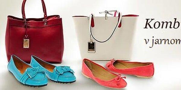 Dámske kabelky, topánky a šatky skladom