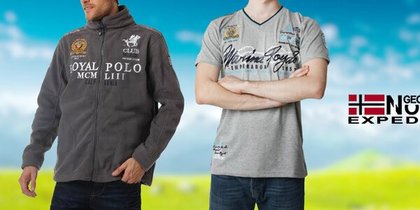 Štýlové pánske športové oblečenie Geographical Norway