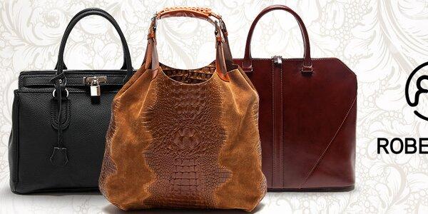 Klasicky elegantné dámske kabelky Roberta Minelli