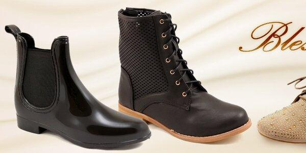 Bless - šmrncovná jarná dámska obuv