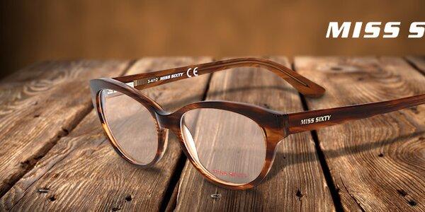 Veselo farebné okuliare pre dámy Miss Sixty