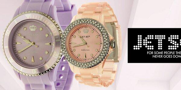 Originálne švédske hodinky pre dámy Jet Set
