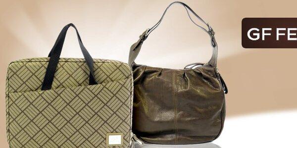 Luxusné dámske kabelky a peňaženky Gianfranco Ferré