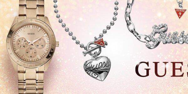 Osobité dámske šperky a hodinky Guess