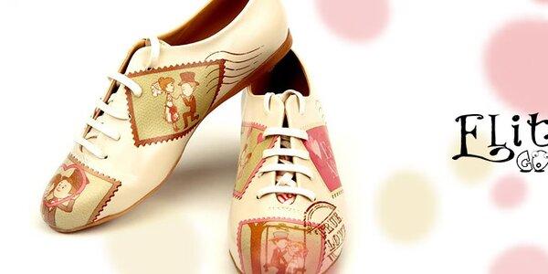 Farebná a originálna - dámska obuv Elite Goby