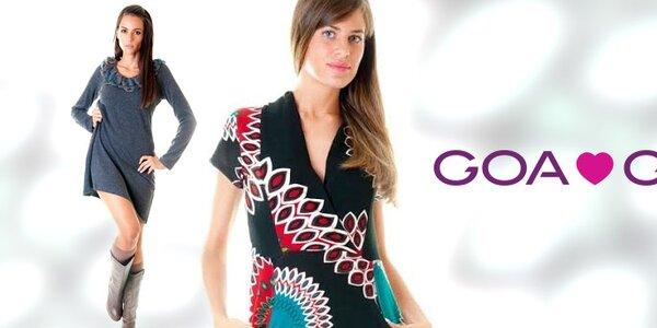 Šmrncovná talianska móda pre dámy Goa Goa