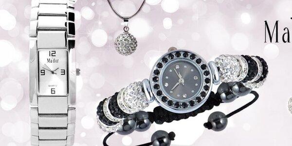Elegantné dámske šperky a hodinky Ma'dor