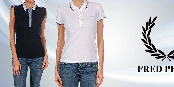 Kvalitné dámske póla, tričká a košele Fred Perry
